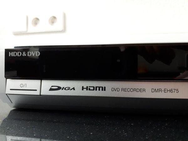 Festplattenrecorder Panasonic DMR EH 675