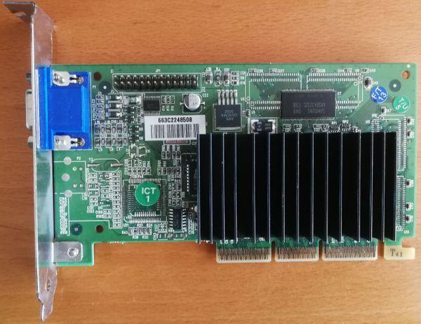 AGP Nvidia PWA-G4000Pro Riva TNT2