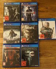 Sony PS4 Spiele Bundle