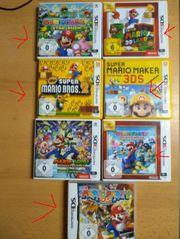 Nintendo 2DS rot-weiß Alle Mario