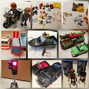 Playmobil Baustelle Feuerwehr Ritter Fahrzeug