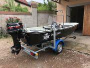 Motorboot Angelboot Bassboot Dory13 mit