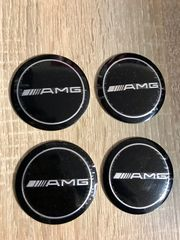 Mercedes AMG Nabendeckel Aufkleber 56mm
