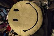 Smily Kissen Grun