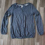 Shirt Bluse Gr 36 blau