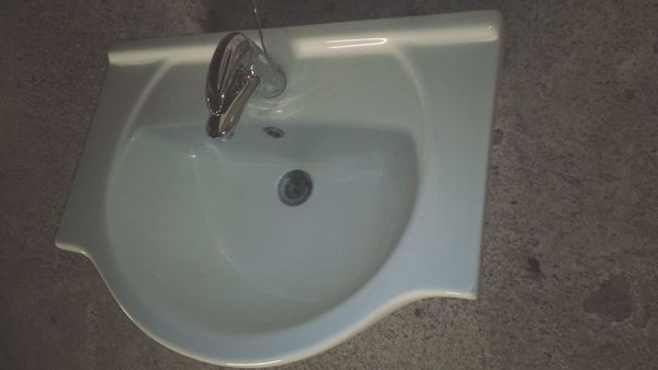 Waschbecken Waschtisch weiß
