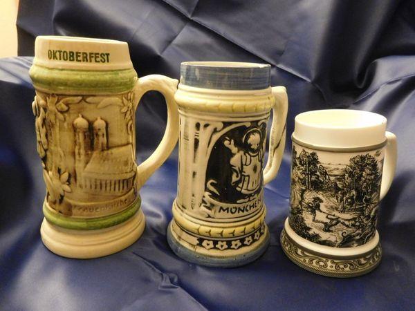 Bierkrüge aus Opas Zeiten 8 - 10