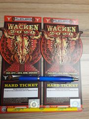 2 Wacken Tickets 2020
