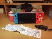 Nintendo Switch mit Rechnung und