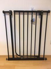 Treppenschutzgitter Türschutzgitter Absperrgitter Klemmgitter Automatik-Tür