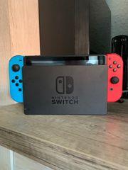 Nintendo Switch Konsole mit spielen