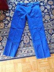 Herren Arbeitshose Gr 54 blau