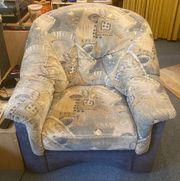 Schöner weicher Sessel top Zustand