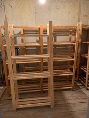 Kellerregale aus Holz zu verschenken