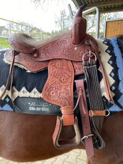 Pony Western Sattel