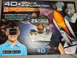 4D + Utopia 360° Space Exploration Augmented Realität Karten & VR Headset