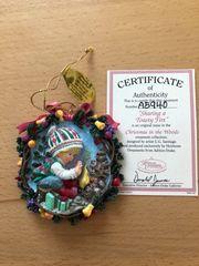 Weihnachtsanhänger Ashton Drake neuwertig nicht