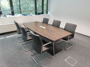 Besprechungstisch mit 6 Stühlen