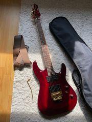 Harley Benton E-Gitarre mit Zubehör