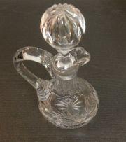 Karaffe Bleikristall mit Stöpsel 25cm