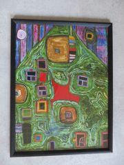 Hundertwasser LE TOIT D UN