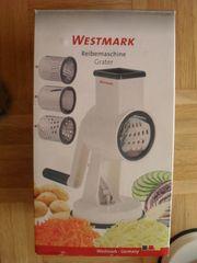 Westmark Reibemaschine mit 3 Schneidtrommeln