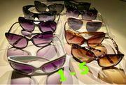 Sonnenbrillen Damen diverse 1-5