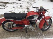 Oldtimer Motorrad Puch 175 SVS