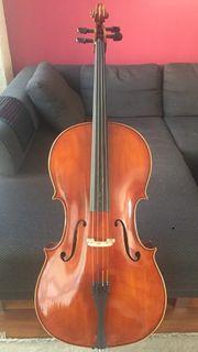 4 4 Cello aus Geigenbau-Werkstatt
