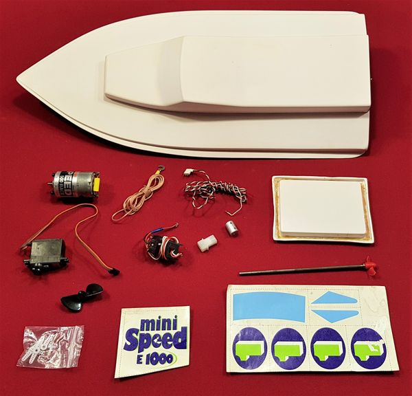 Graupner Mini Speed Rennboot Minispeed