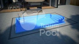 GFK Schwimmbecken Pool 5 x: Kleinanzeigen aus Poznan - Rubrik Sonstiges für den Garten, Balkon, Terrasse