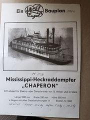 Mississippi-Heckraddampfer CHAPERON