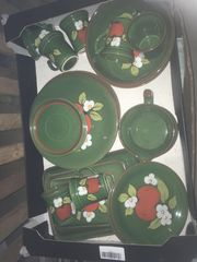 Zeller Keramik handbemalt Marke EDEN