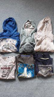 Kleiderpaket Jungs Shirts mit langen