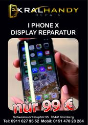 iPhone X Display Reparatur in