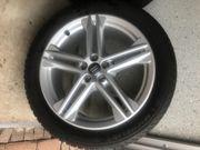 Aluminium-Gussräder mit Reifen