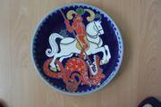 Westerwälder Wandteller Keramik