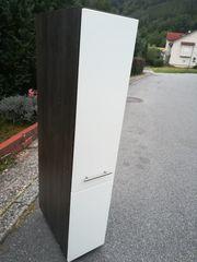 Apothekerschrank Weiß Lack HG Nobilia