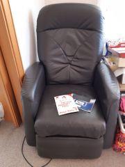 elektrisch bedienbarer Sessel Liegesessel mit