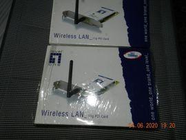 Sonstige Hardware, Zubehör - WLAN Karte PCI 108 MBPS