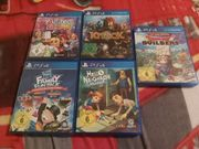 5 PS4 Spiele zu verkaufen