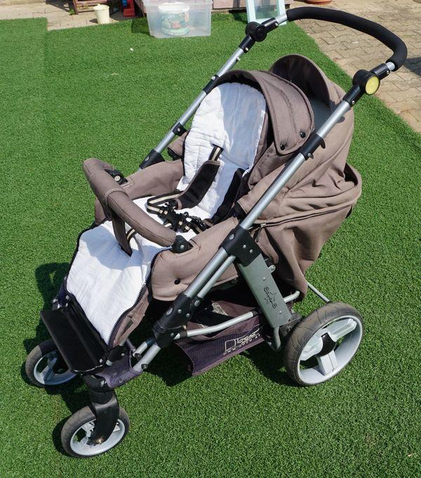 Kombi Kinderwagen Sitzen Liegen Babyschale