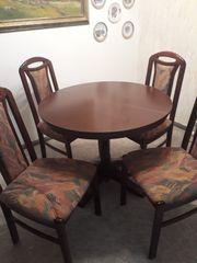 Esstisch mit 4 Stühlen Essecke
