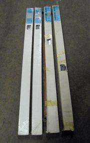 4 Alu-Jalousien-Sonnen-Sichtschutz 140x175x25 mm silber