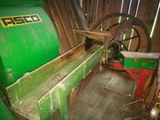 Schöne alte Strohschneidemaschine