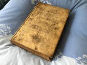 Dachbodenfund Sehr altes Historische Buch