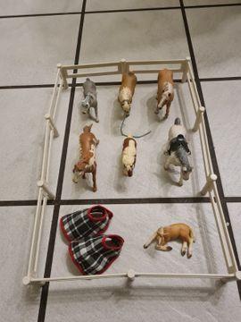Sonstiges Kinderspielzeug - Schleich Pferde mit Zaun