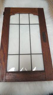 Holz Fenster Blei gefasst Garten