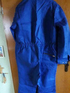 Sonstige Kleidung - Arbeitsoverall Größe 60 royalblau - robuste