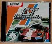 CD-ROM - GT Legends - PC-Spiel - Auto-Rennen -